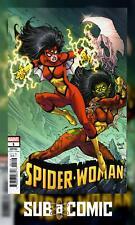 SPIDER-WOMAN #1 NAUCK VILLAINS VARIANT (MARVEL 2020 1st Print) COMIC