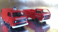 ** Roco Minitanks 629 Army Fire Trucks 2 vehicle Set USA 1:87 HO Scale