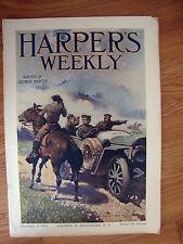 Harper's Weekly Magazine October 5 1912 Riesenberg Cover Art  US Calvery Theme