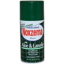 Noxzema Shaving Medicated Shave With Aloe and Lanolin 11 Oz 311 G