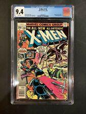 CGC 9.4 UNCANNY X-MEN #110 1978 COMIC BOOK LOT PHOENIX JOINS TEAM CLAREMONT