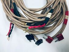 Speaker Cables 17Ft Pair