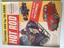 Hot Rod Magazine LAkes Pipes And Plugs Pictorial April 1958 042517nonrh