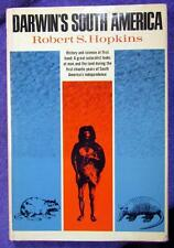 "1969 CHARLES DARWIN ""Darwin's South America"" History Science Hopkins HC w/ DJ"