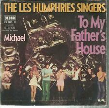 45 TOURS  2 TITRES /THE LES HUMPHRIES SINGERS  TO MY FATHERS HOUSE      B3