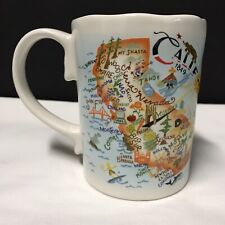 New listing Catstudio 2012 Geography Collection Coffee Cup Mug State Map - California