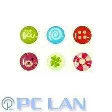 6 PCS Four Leaf Clover Mix Pattern Home Button Sticker for iPad 2/3/4 +Bonus Set