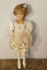 "Morning International Doll ""Aubrey"" Ballerina Porcelain Doll 16"""