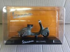 "DIE CAST "" VESPA 98 (1946) "" VESPA COLLECTION SCALA 1/18"