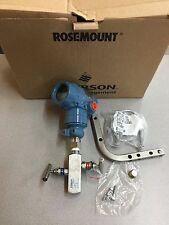 NEW IN BOX ROSEMOUNT TRANSMITTER 2051TG1A2B21AS5B4E5M5 WITH 0306RT22BA11