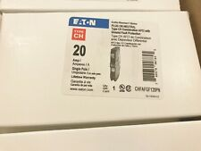 ONE (1) NEW EATON CUTLER HAMMER CHFAFGF120PN 20A AFCI CIRCUIT BREAKER BEST PRICE