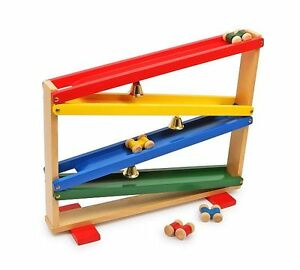 "Kw 1006 Wooden Toy "" Bells "" New"
