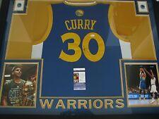 Stephen Curry Autographed Jersey - FRAMED - JSA