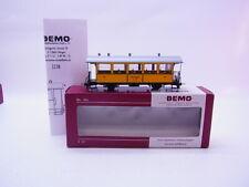 "68229 Bemo 3238164 Personenwagen RhB C.114 ""La Bucunada"" Schmalspur H0m 12mm OVP"