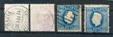 Portogallo 1870 41yb, C, 42-43 Gest 332 € (n7669