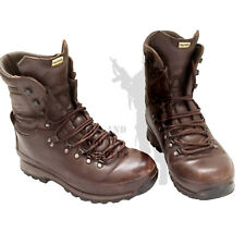 BRITISH ARMY - Altberg Defenders Boots Brown Leather Combat