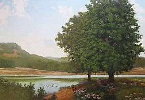 Indian Lake Print by Bill Bailey