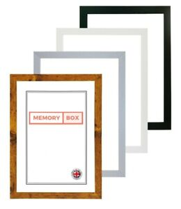 Picture frame photo frame Black White Silver MDF 20MM A3 A4