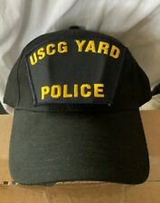 New Uscg Us Coast Guard Yard Police Law Enforcement hat cap Military