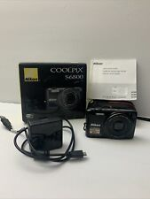 Nikon Coolpix S6800 16mp 12x Zoom Full HD Wi-fi Camera