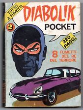 DIABOLIK  POCKET N.2 supplemento Horror pocket 11 gino sansoni editore 1974
