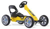Berg Reppy Rider Kids Pedal Car Go Kart Yellow / Black 2.5 - 6 Years NEW