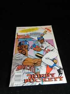 Vintage Revolutionary Kirby Puckett Baseball Superstars Comic Book #13