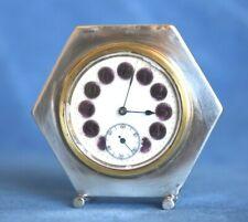Guilloche Clock In Antique Clocks For Sale Ebay