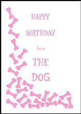 Novità Buon Compleanno Biglietto D'Auguri dal cane - 2P-Own Design