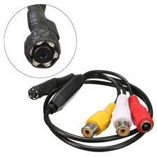 Micro Mini HD 600TVL CCTV Wired IR Hidden Camera  Night Vision Home Security