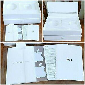 Apple iPad 7th Generation WiFi 32GB EMPTY BOX,  Stickers, Info Sheets, Clean Box