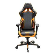 DXRacer OH/RV131/NO Black & Orange Racing Series Gaming Chair & Cushions