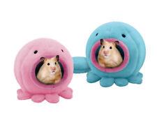Höhle Kuschelhöhle Oktopus Haus Nager Hamster Ratten Mäuse Degus Blau oder Rosa