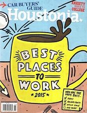 HOUSTONIA November 2015 College Anxiety Car Buyers Guide Best Places to Work VG+