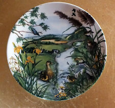 Wedgwood collectors plate The Meandering Stream by Colin Newman  collectable