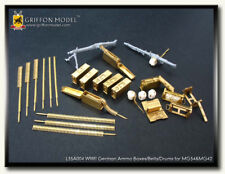 Griffon Model 1/35 German Ammo Boxes/Belts/Drums for Machine Gun MG34 &MG42