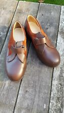 OR6 UK Size 8 Brown Ladies Leather Standard Fitting Women Comfort Medical Shoes