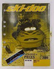 Ski-Doo 2000 Mx Z X 440 Lc Oem Factory Parts Book Catalog Manual 484 400 085