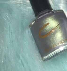 RARE CND Creative Nail Design Salon Lacquer Polish Raven Pro Color Womens F