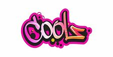 Grafitti Style Graffix Grafix Coolz Sticker Decal Graphic Vinyl Label