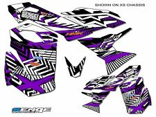 ALL YEARS SKI DOO TUNDRA GRAPHICS KIT SKIDOO BRP DECO WRAP SKI-DOO PURPLE