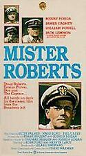 Mister Roberts VHS 1955 World War II Henry Fonda James Cagney Jack Lemmon