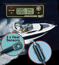 TM4 Twin Marine, Engine Temperature Warning Alarm & Sensor for twin engine boats