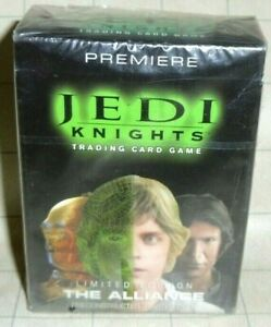 Jedi Knights Limited Edition The Alliance Starter Deck SEALED - Star Wars TCG