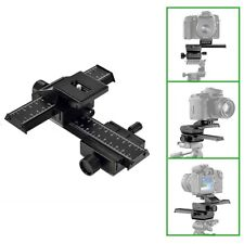 4 Way Macro Focusing Rail Slider for Close-up Shooting