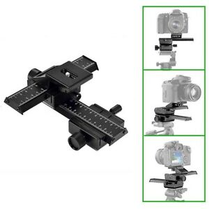 4 Way Macro Focusing Rail Slider for Close-up ShootingWR