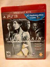 Heavy Rain - Director's Cut -- Greatest Hits (Sony PlayStation 3 PS3, 2011)