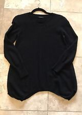 EUC Vince Black Women's Scoop Neck Cashmere Sweater SZ M US 2-4 $398
