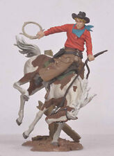 Black Hawk Toy Soldier FW-0411 The Cowboys Bronco Buster 54mm Collectible Figure