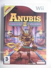 Jeu ANUBIS II 2 sur nintendo WII en francais pour enfant spiel juego gioco PAL